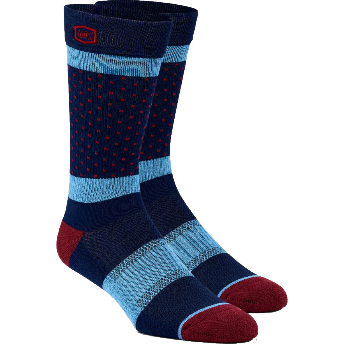 100% Opposition Casual Socks - S/m Navy  Socks