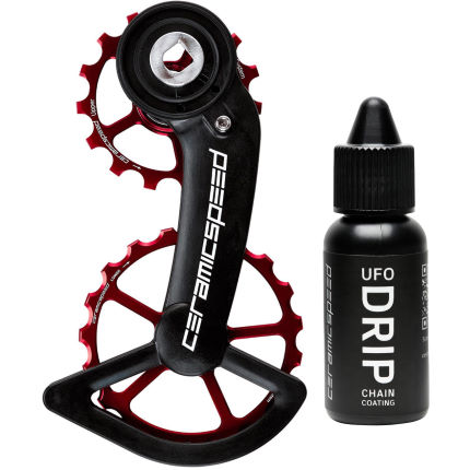 CeramicSpeed Red OSPW System AXS and UFO Drip