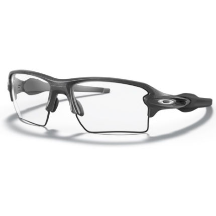 Oakley Flak 2.0 XL Black Clear Lens Sunglasses
