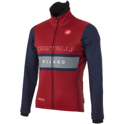 Castelli Milano Windstopper Cycling Jacket