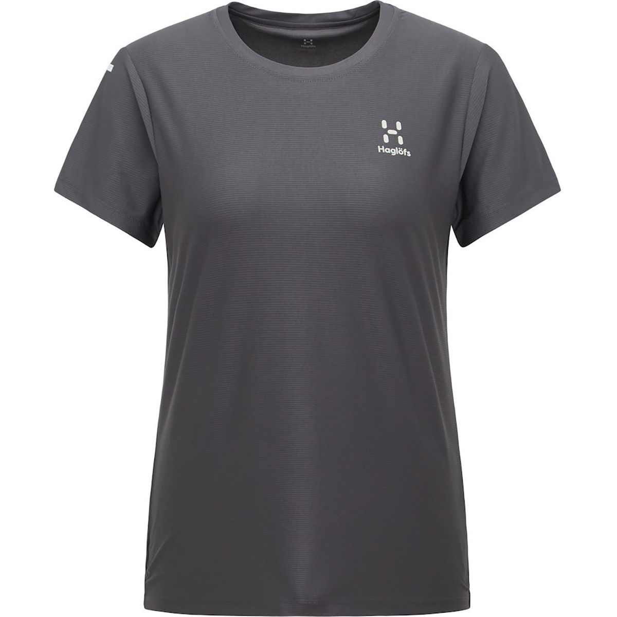 Haglfs Womens L.i.m Tech Tee - Medium Magnetite  T-shirts