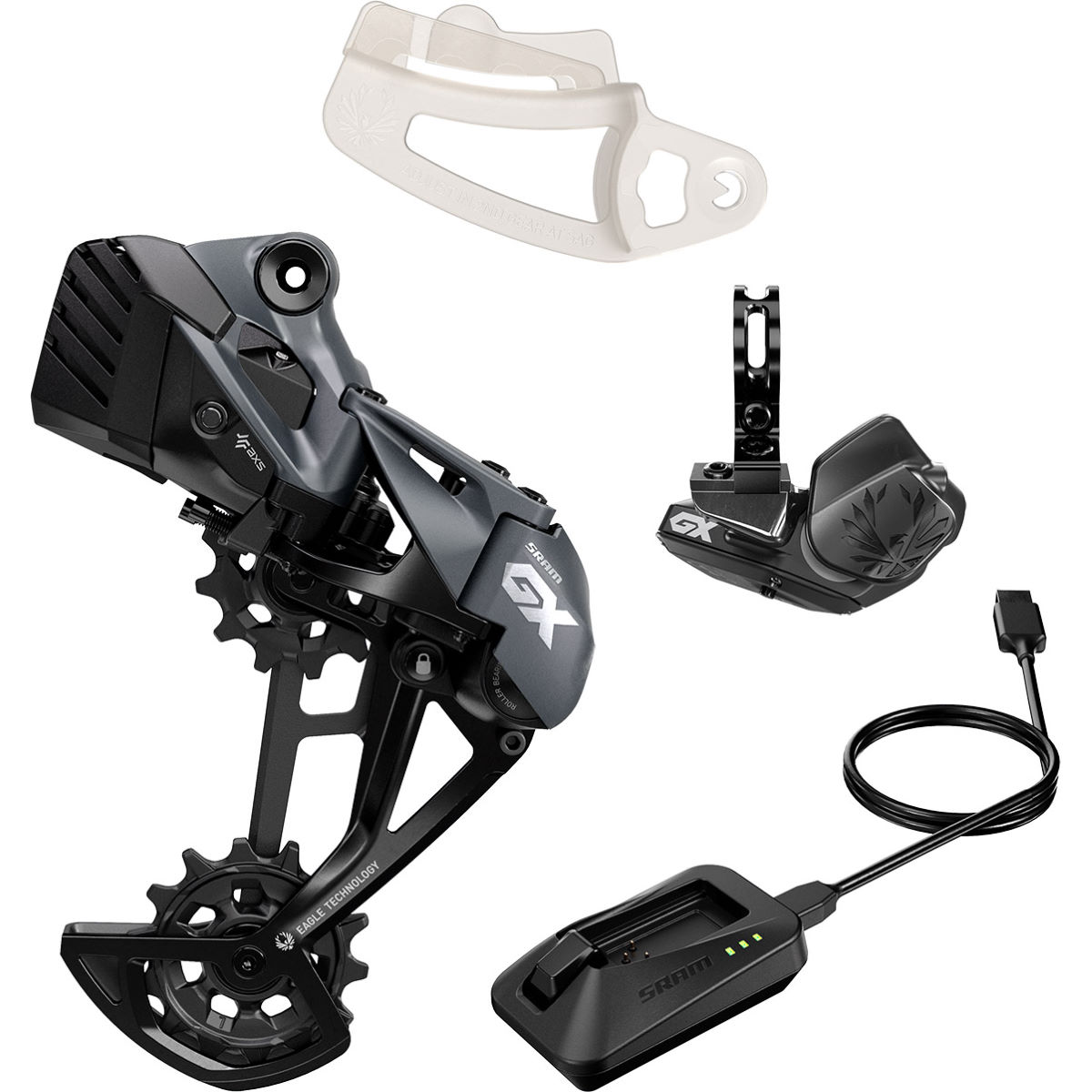 Sram Gx Eagle Axs Upgrade Kit - Up To 52t Lunar  Groupsets