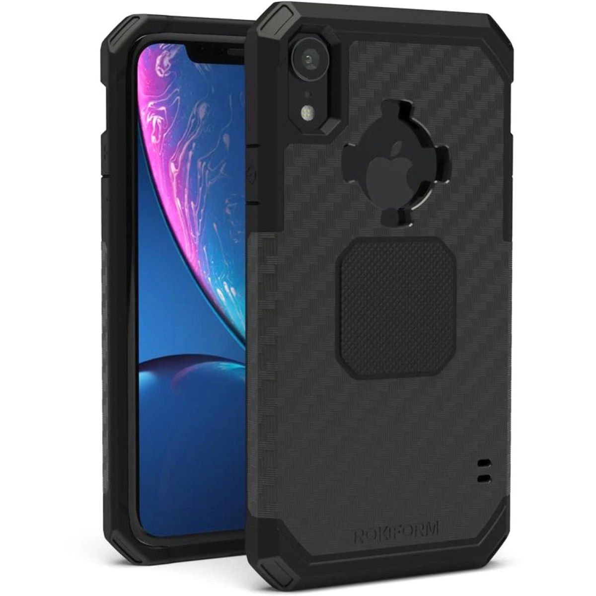 Rokform Rugged Phone Case - iPhone XR - One Size Black | Phone Cases