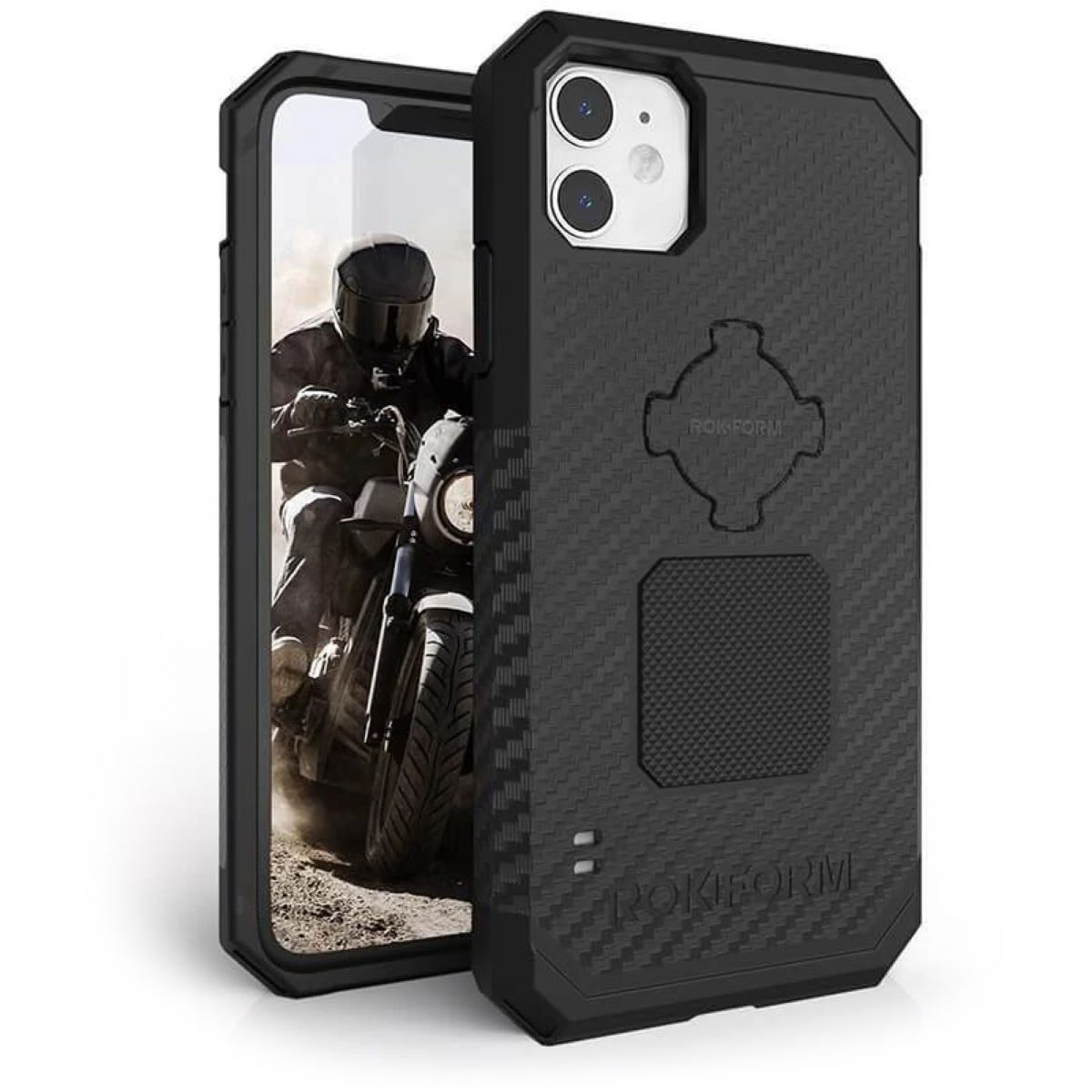 Rokform Rugged Phone Case - iPhone 11 - One Size Black | Phone Cases