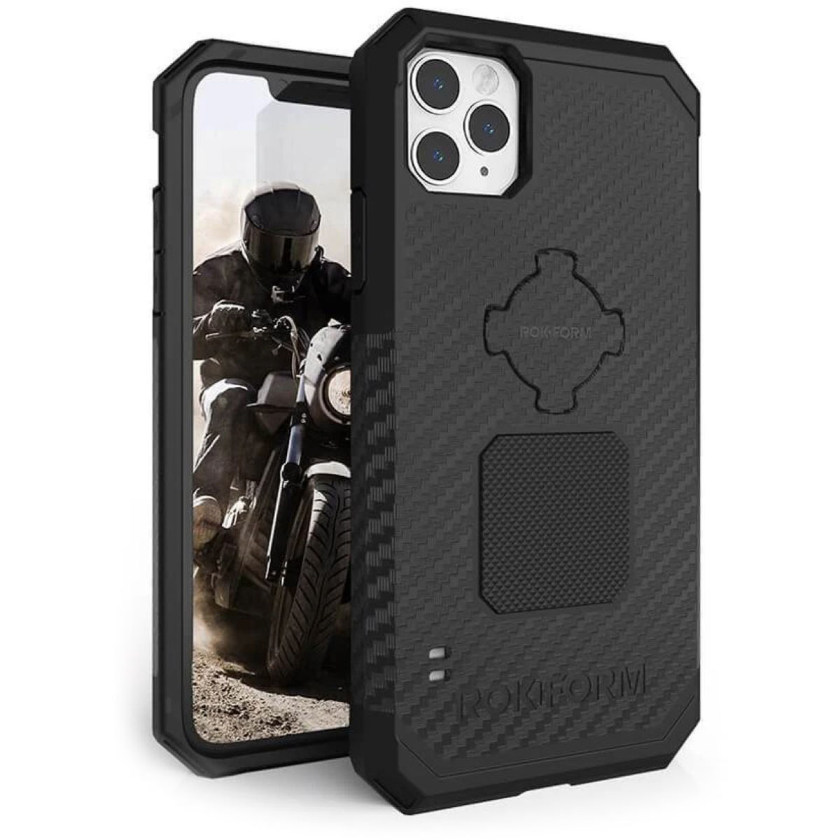 Rokform Rugged Phone Case - iPhone 11 Pro Max - One Size Black