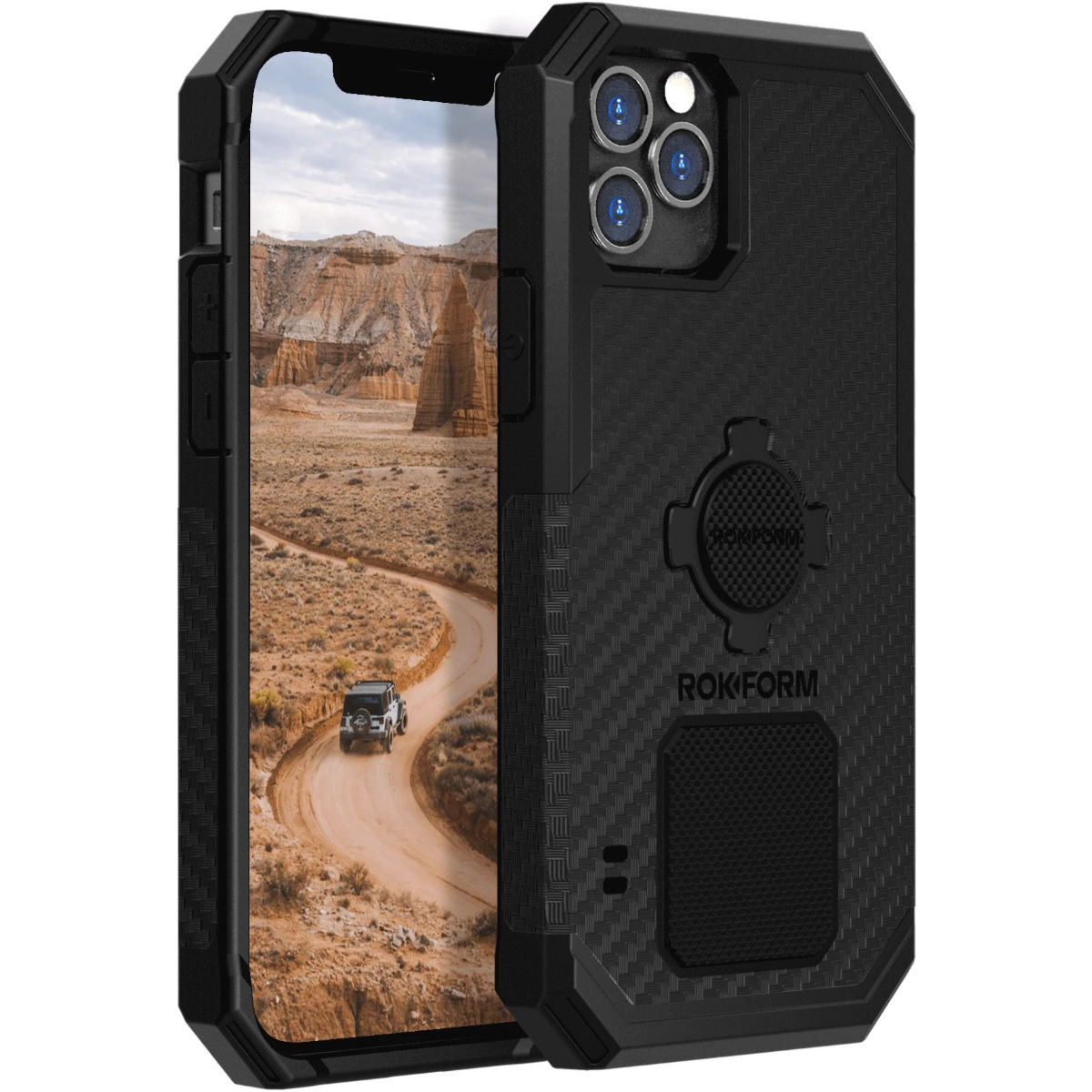 Rokform Rugged Phone Case - iPhone 12 Pro Max - One Size Black
