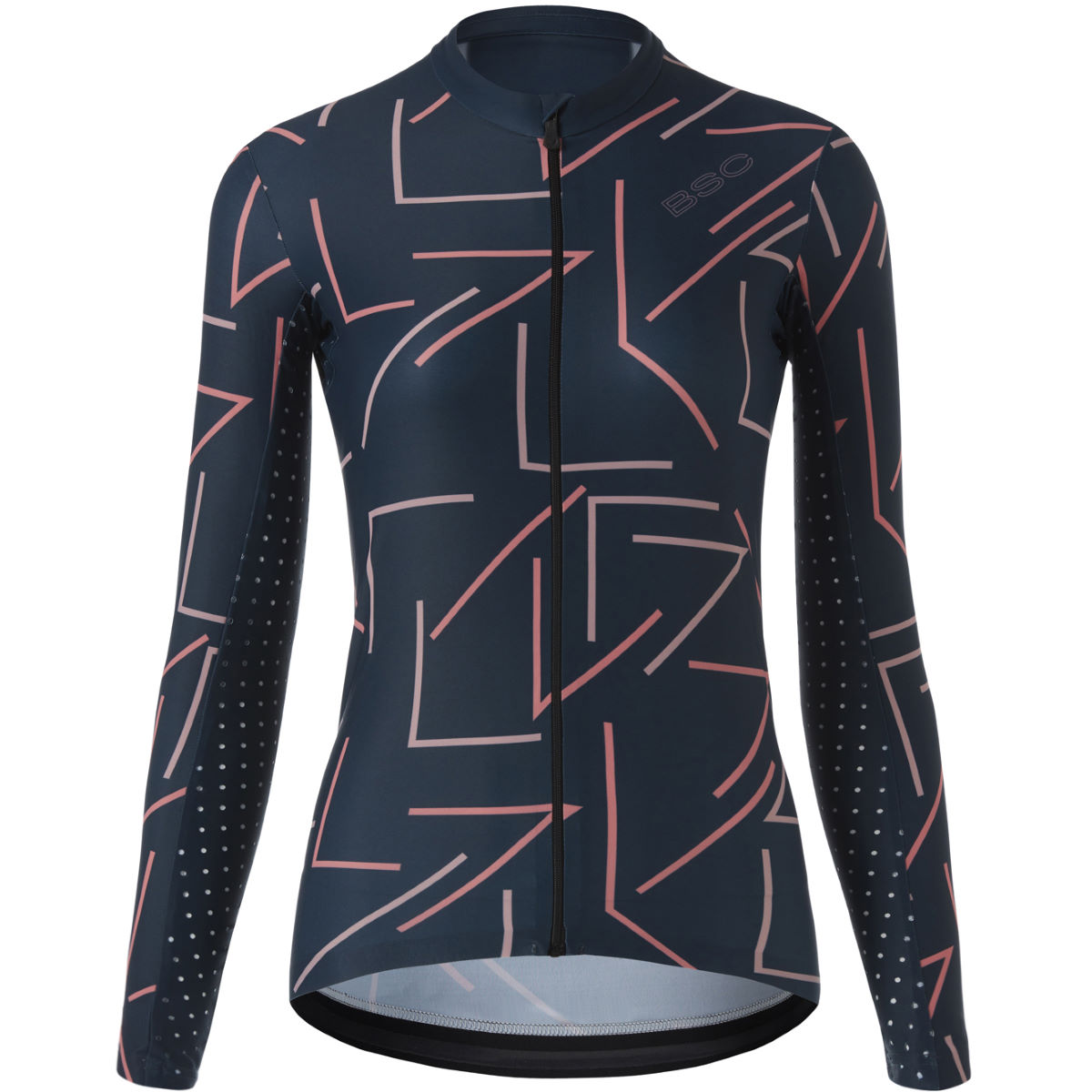 Black Sheep Cycling Womens Wmn Long Sleeve Slate Jersey - L Slate