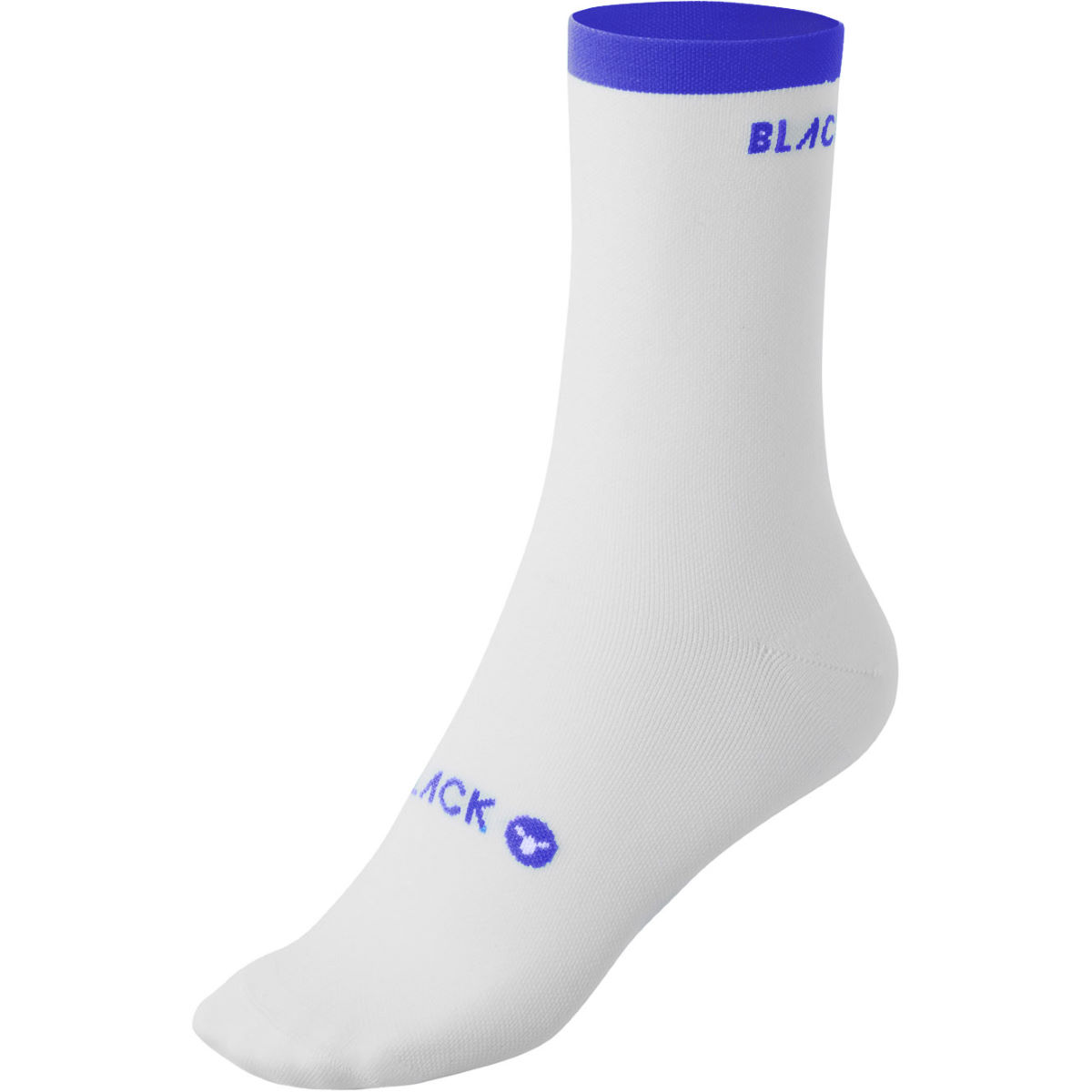 Black Sheep Cycling Perfect Crew Blue Stripe Cycling Socks - Xs Blue