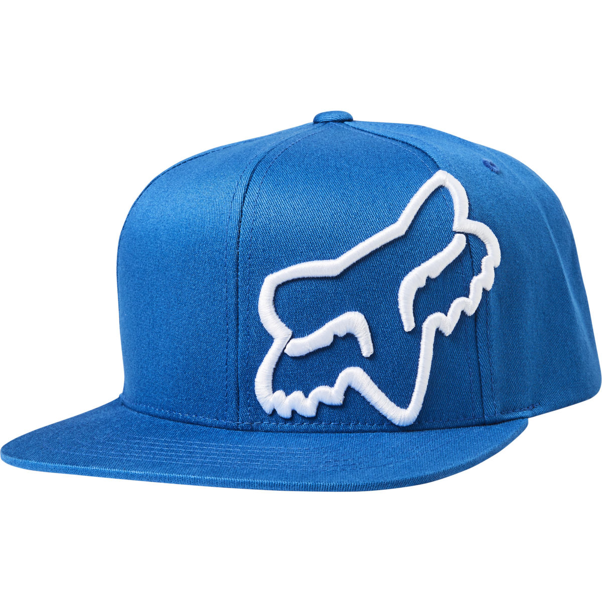 Fox Racing Headers Snapback Hat - One Size Blue/white  Caps