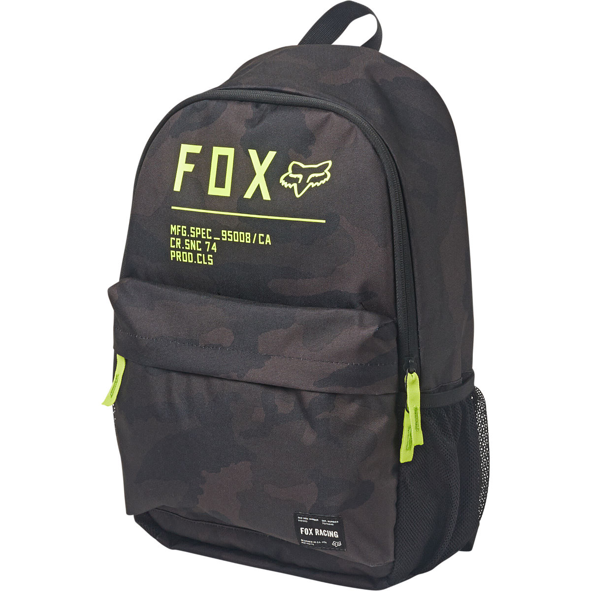 Fox Racing Non Stop Legacy Backpack - One Size Black  Rucksacks