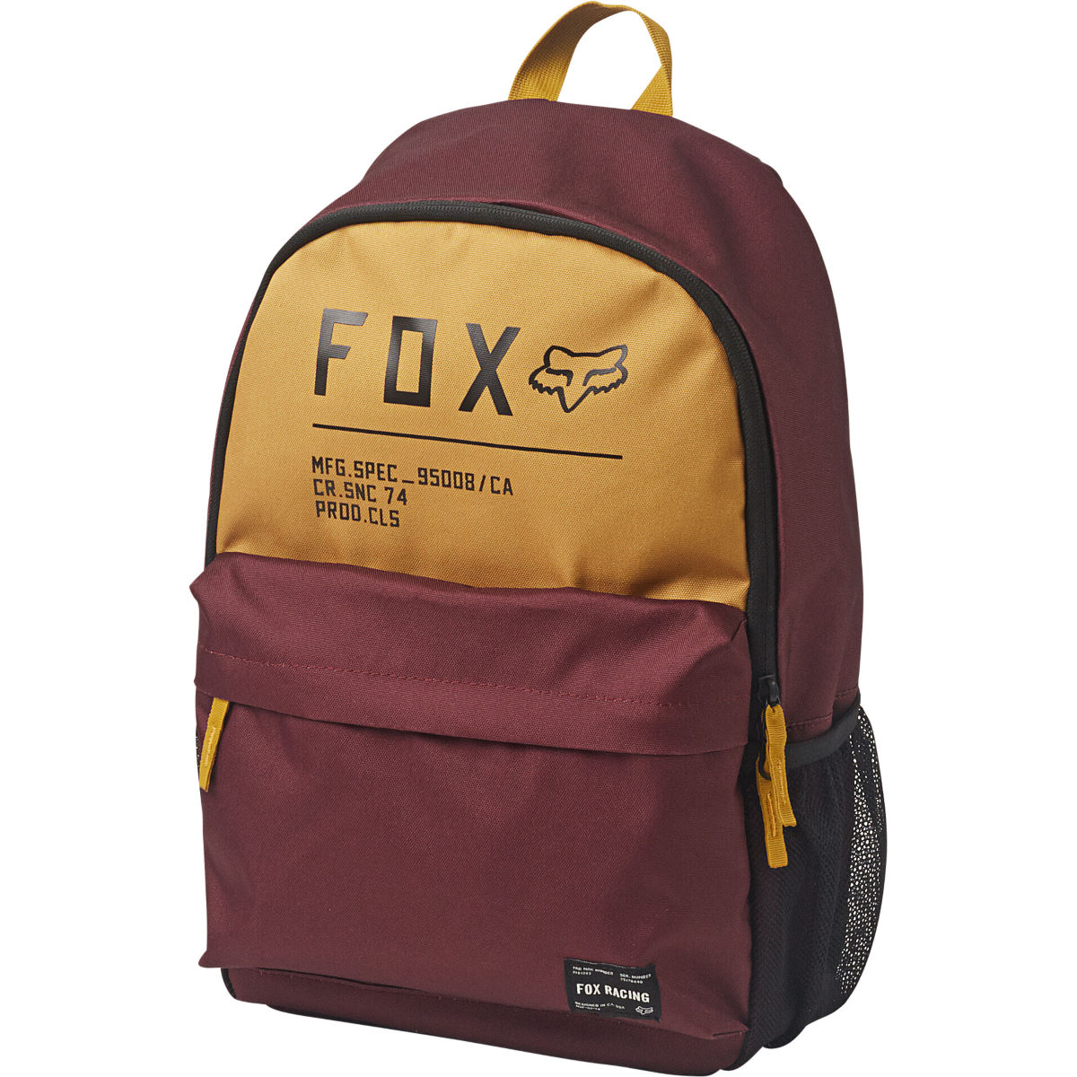 Fox Racing Non Stop Legacy Backpack - One Size Cranberry  Rucksacks