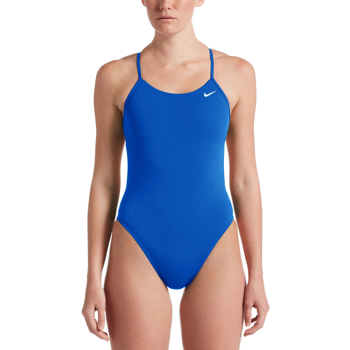 Nike Womens Hydrastrong Swimsuit (cutout) - 36 494 Game Royal