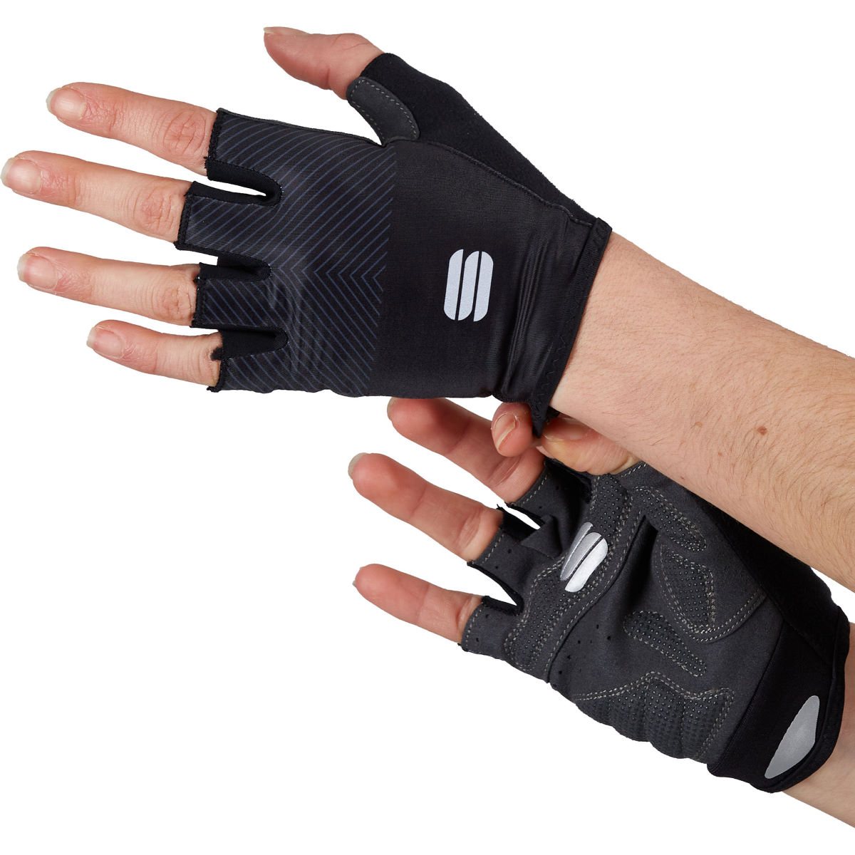 Sportful Womens Race Cycling Gloves - S Black  Gloves