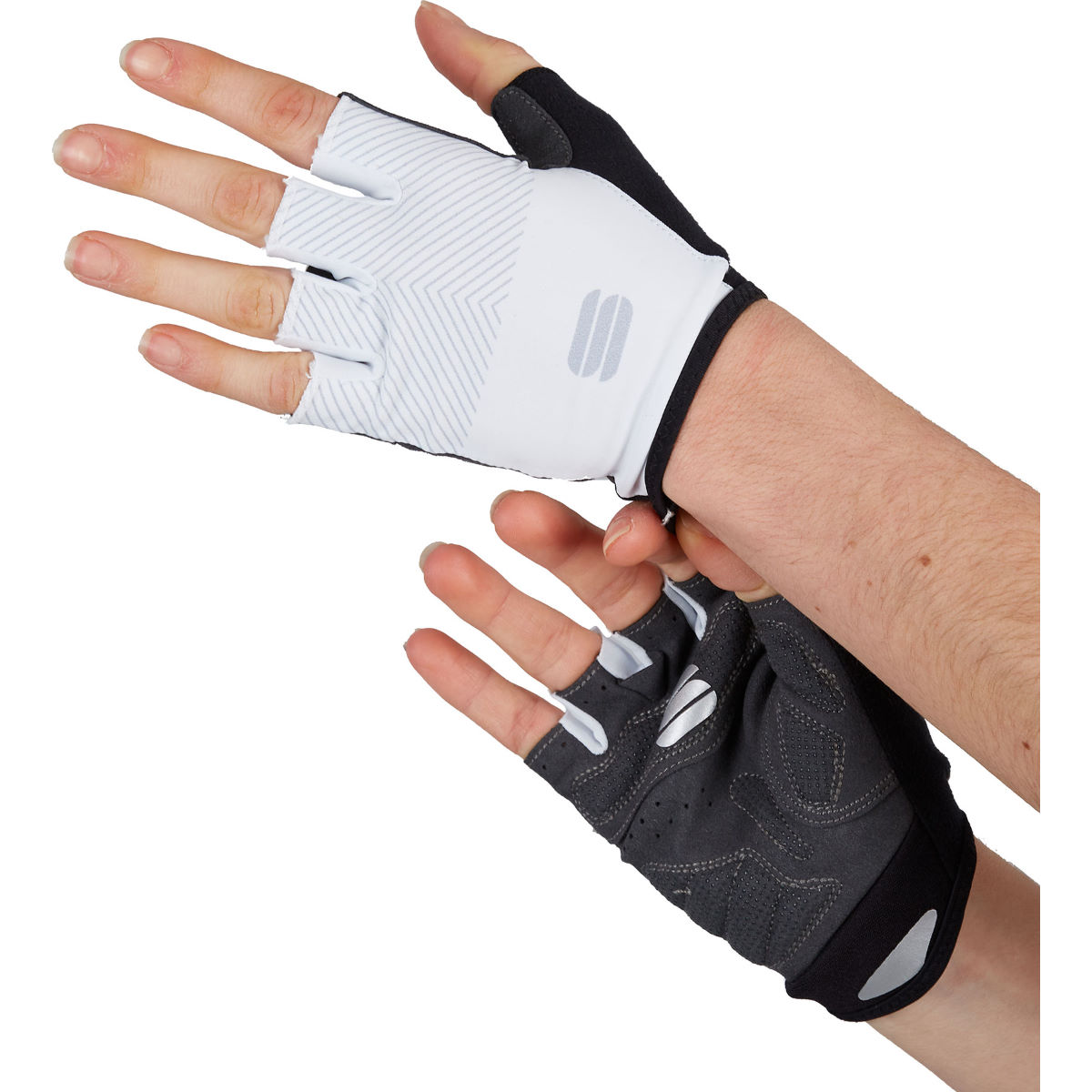 Sportful Womens Race Cycling Gloves - M White  Gloves