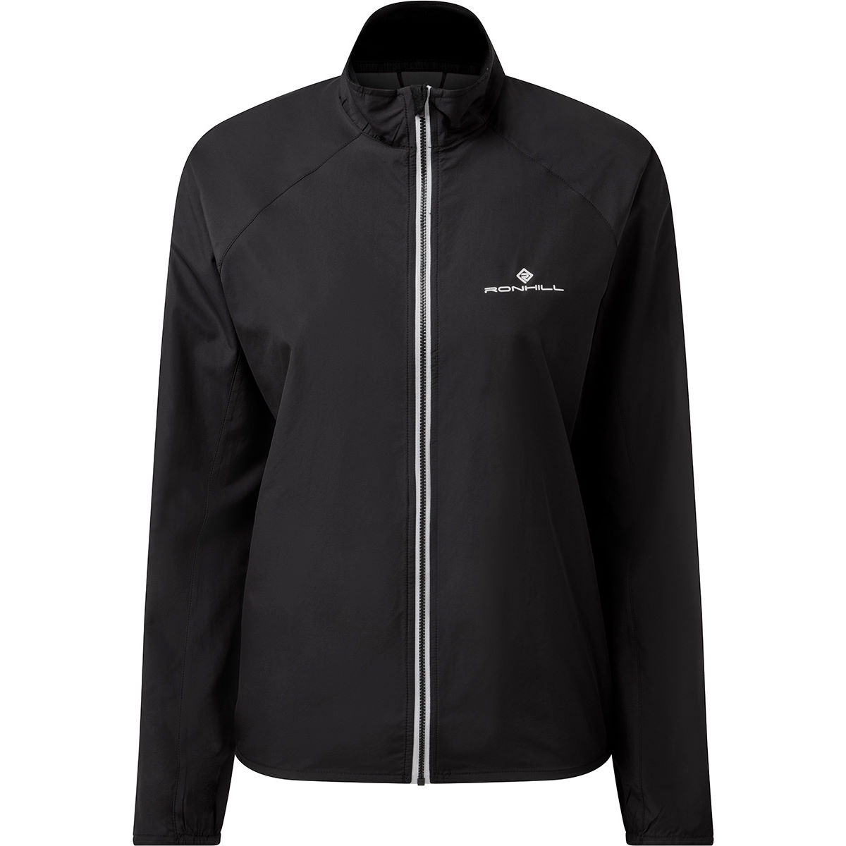 Ronhill Womens Core Running Jacket - Large All Black  Jackets