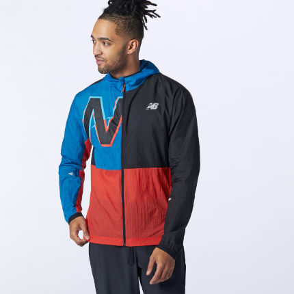 New Balance Printed Impact Run Light Pack Running Jacket