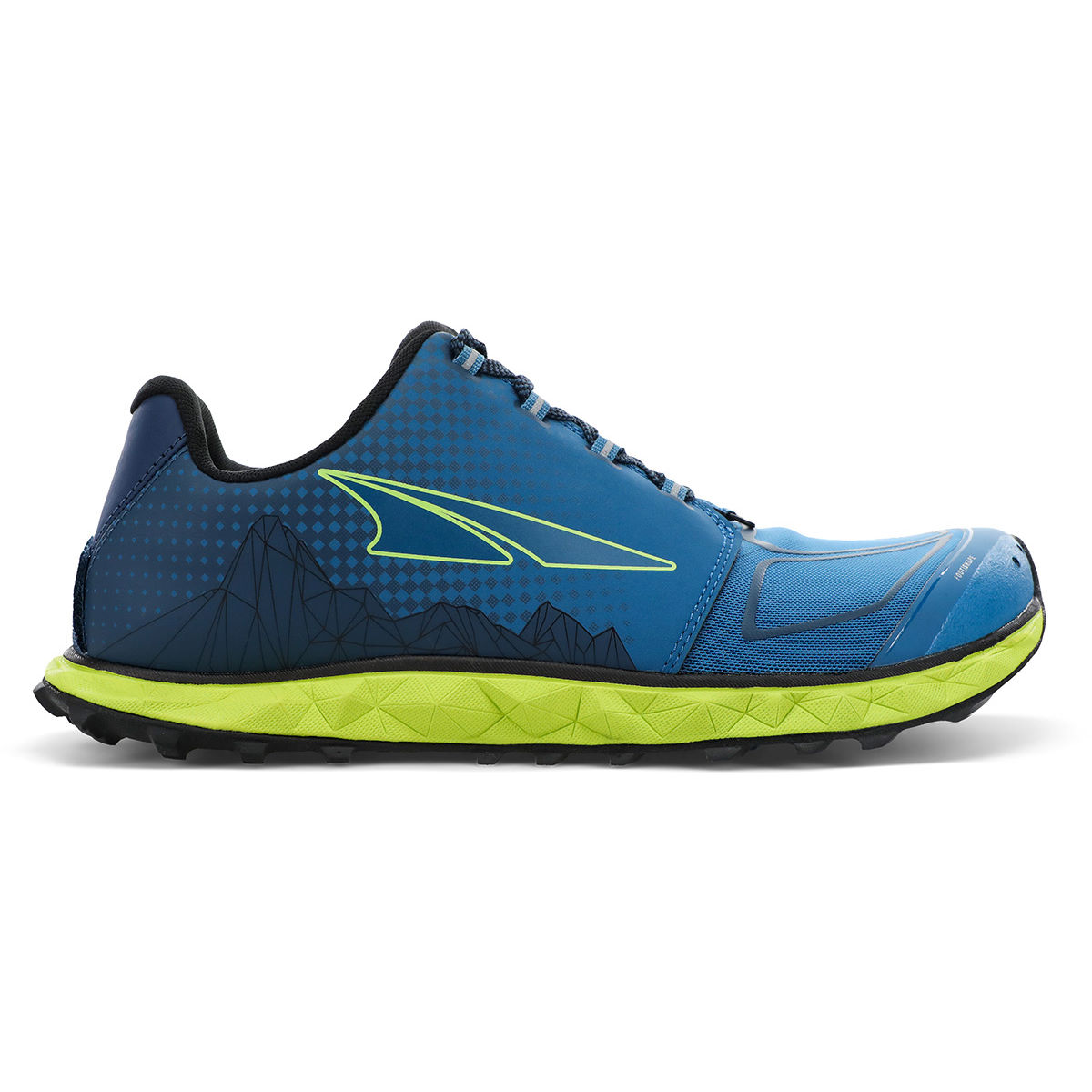 Altra Superior 4.5 Running Shoes - Uk 12 Al-0077 Blue/lime