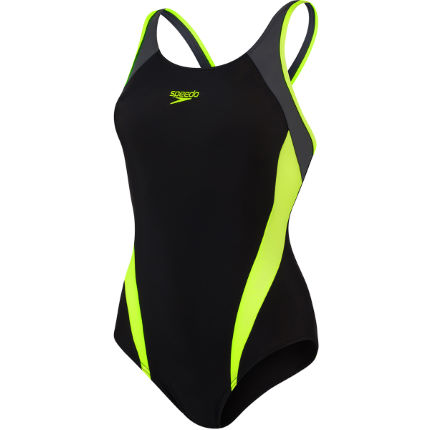 Speedo Women's Splice Muscleback Swimsuit
