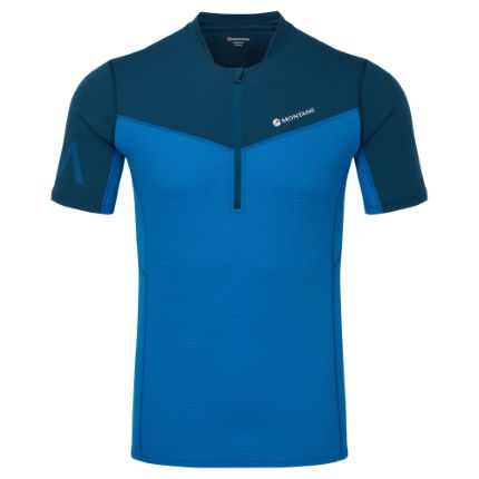 Montane Dragon Zip Running T-Shirt