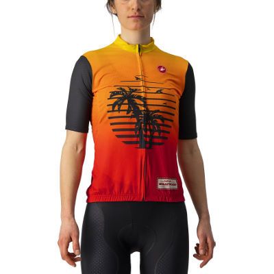 /Trikots: Castelli  Hollywood Competizione Women's Cycling Jersey Whit - Trikots