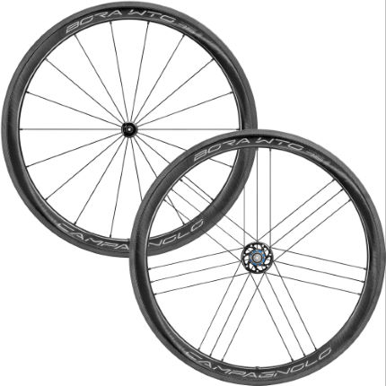 Campagnolo Bora WTO 45 Disc 2-Way Road Wheelset - Bright Labe