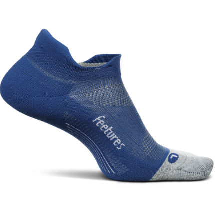 Feetures Elite Light Cushion No Show Tab Solid Running Sock