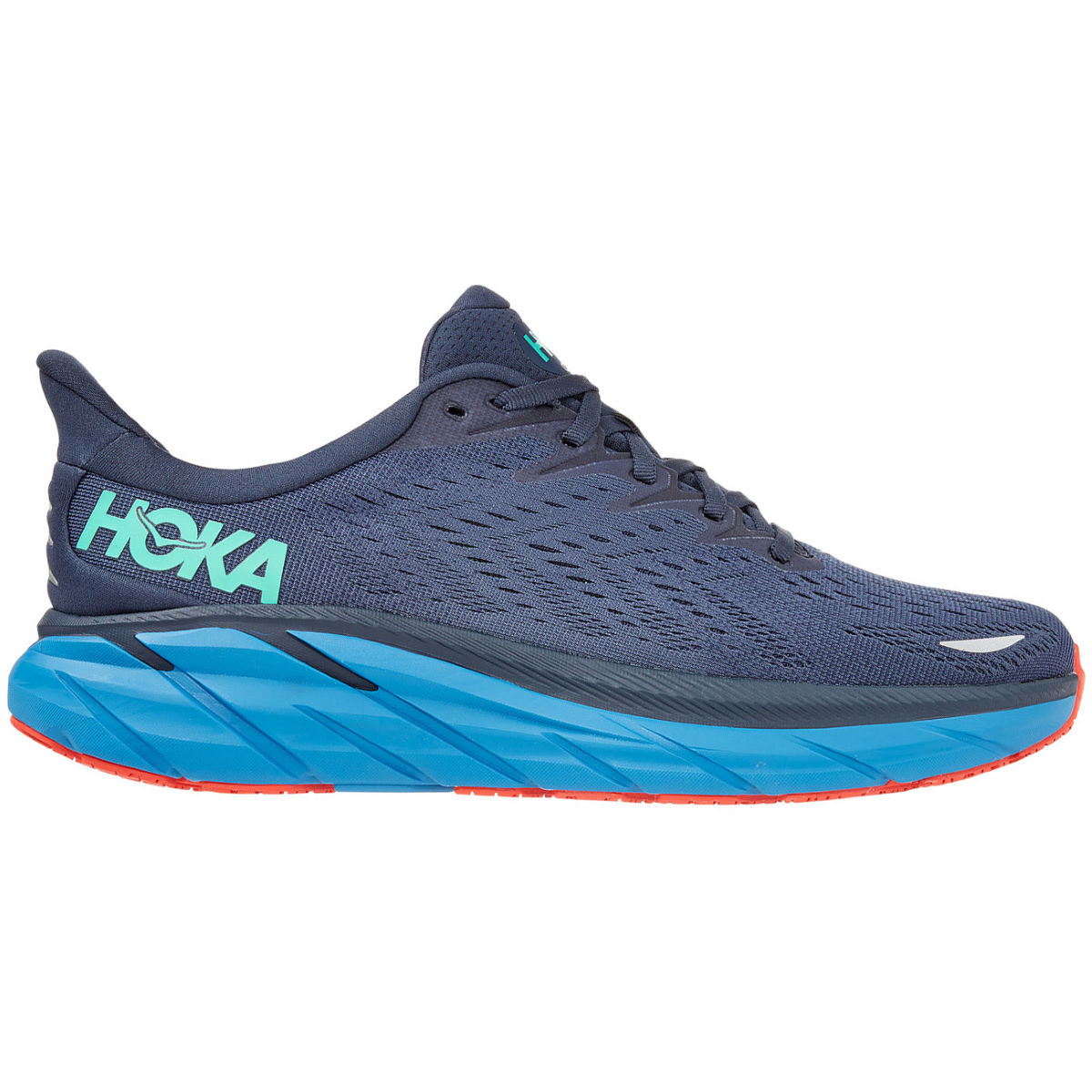 Hoka One One Clifton 8 Wide Running Shoes - UK 7 | Running Shoes