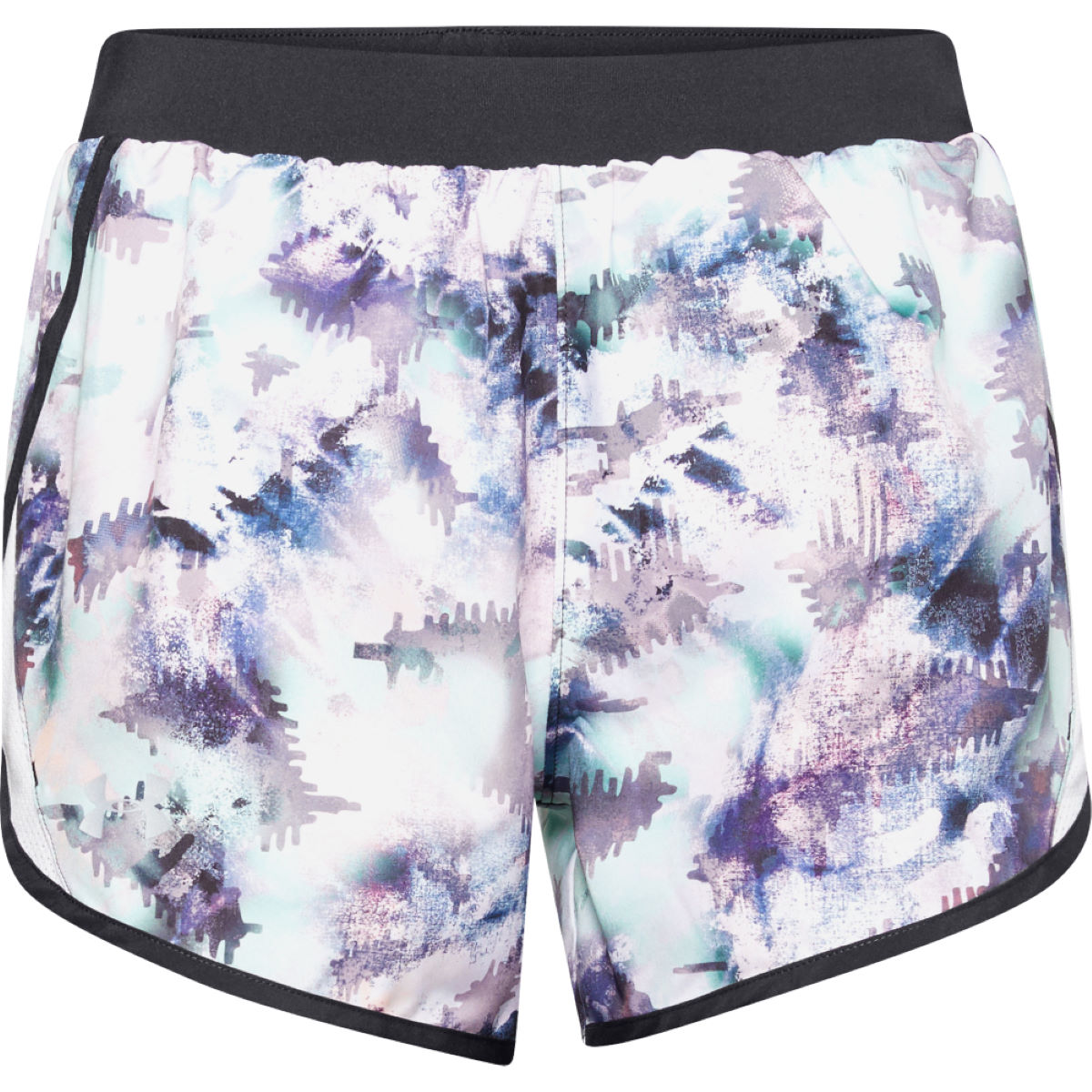 Under Armour Fly By 2.0 Printed Running Shorts - S Blue  Shorts