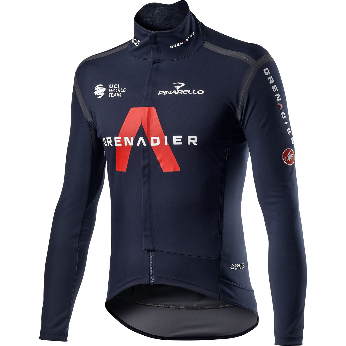 ComprarCastelli Team Ineos Grenadier Perfetto Ros LS Jersey - Maillots