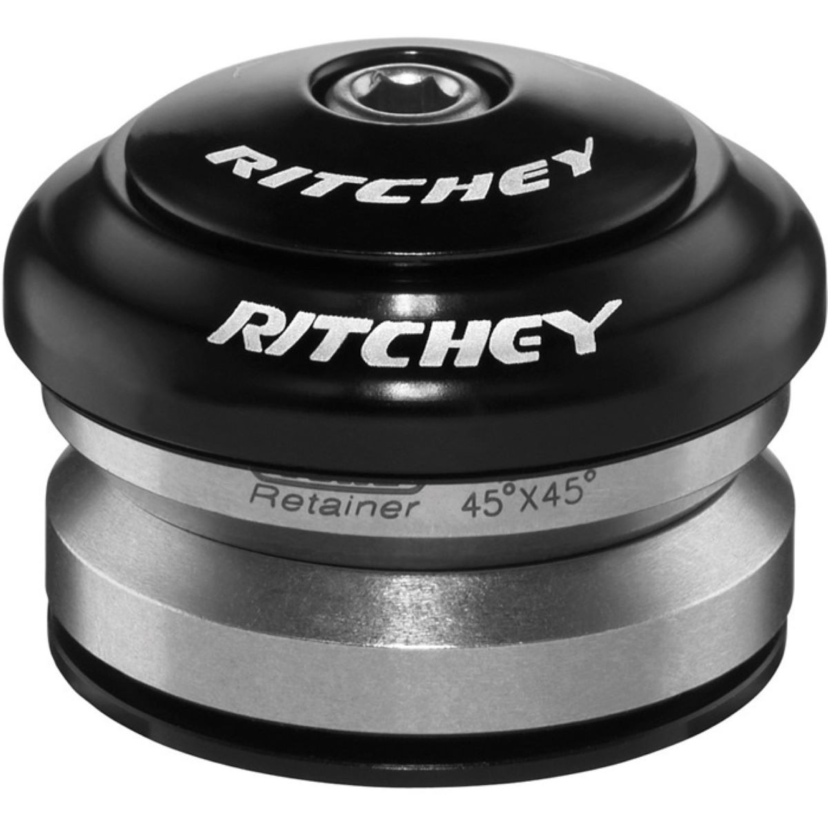 Ritchey Comp Drop In Headset - 1.1/8 - 1.5 Tapere Black  Headsets