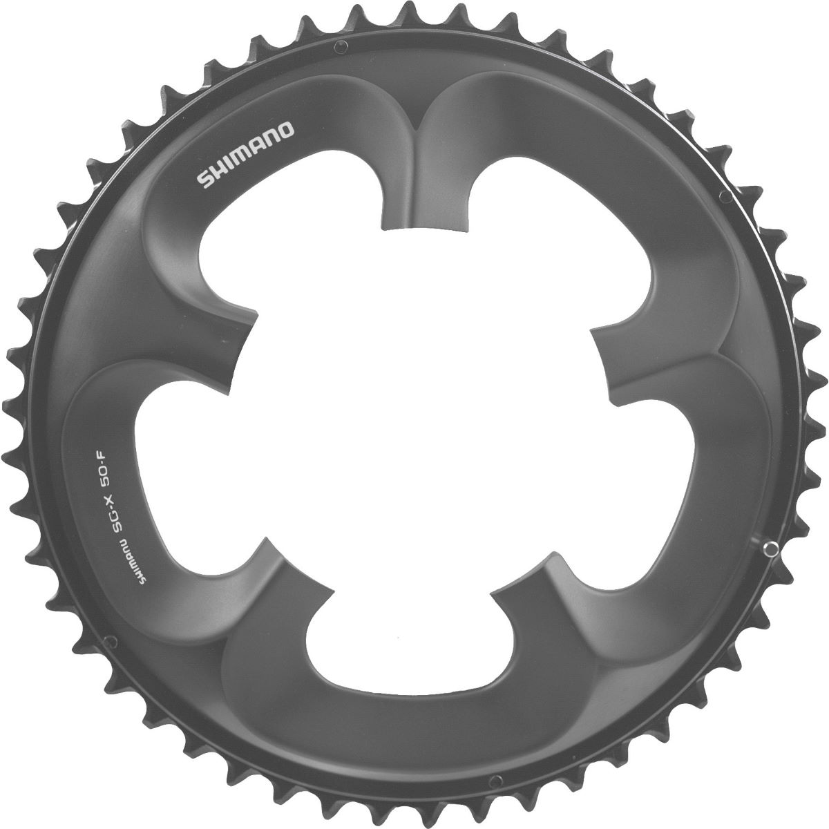 Shimano Ultegra Fc6750 10sp Compact Chainrings - 50t 10 Speed Grey