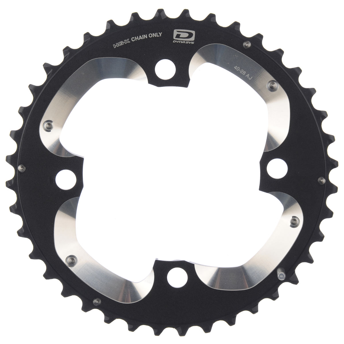 Shimano Xt Fcm785 10 Speed Double Chainring - Aj Type 40t 10 Speed