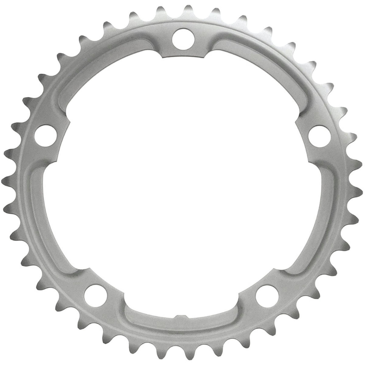 Shimano Tiagra Fc4600 10sp Double Chainrings - 39t 10 Speed Silver