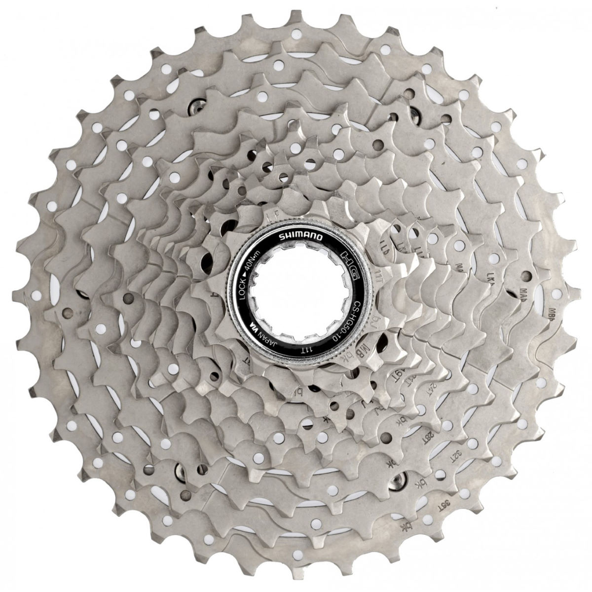 Shimano Deore HG50 10 Speed MTB Cassette   Cassettes