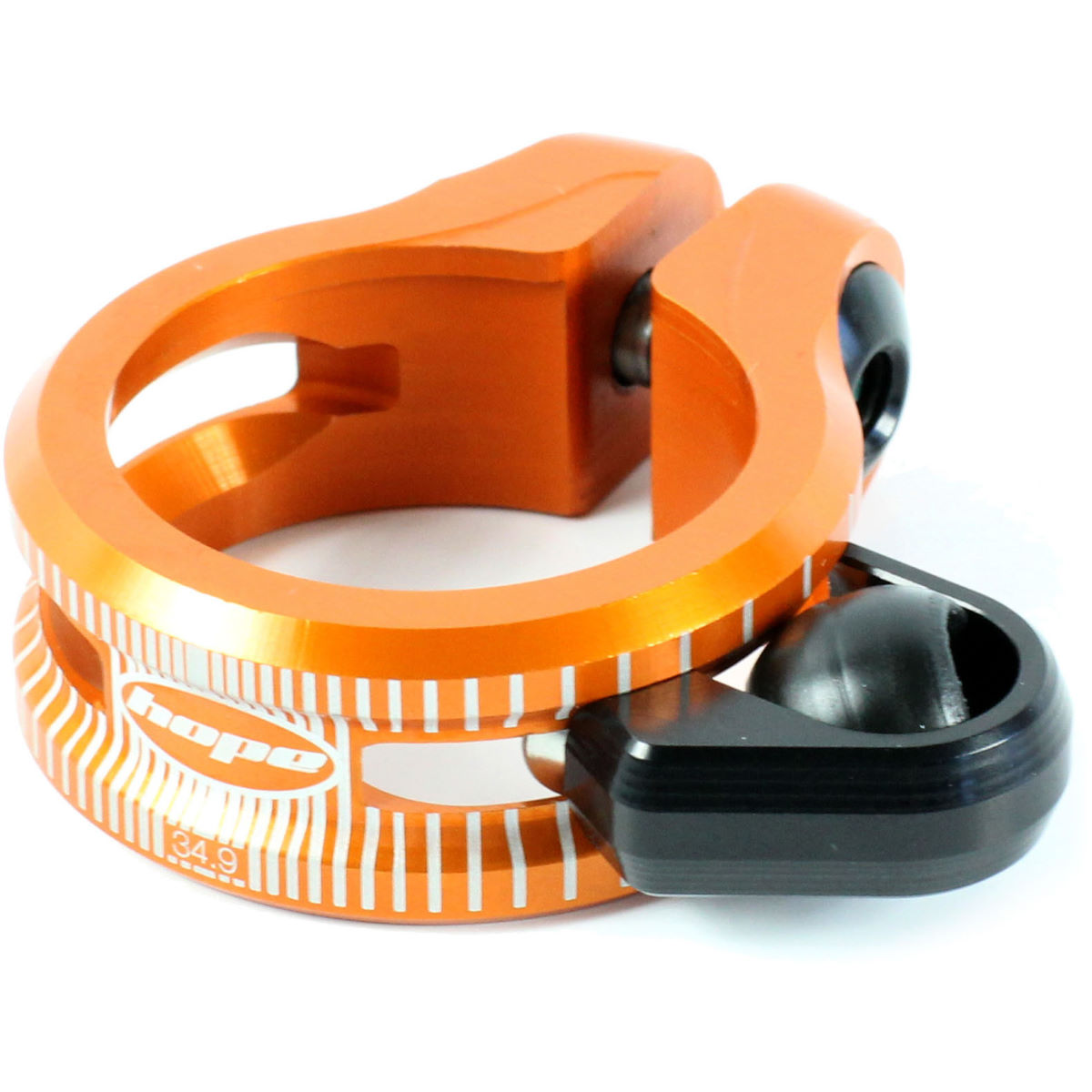 Hope Dropper Seat Clamp - 36.4mm Orange  Seat Post Clamps