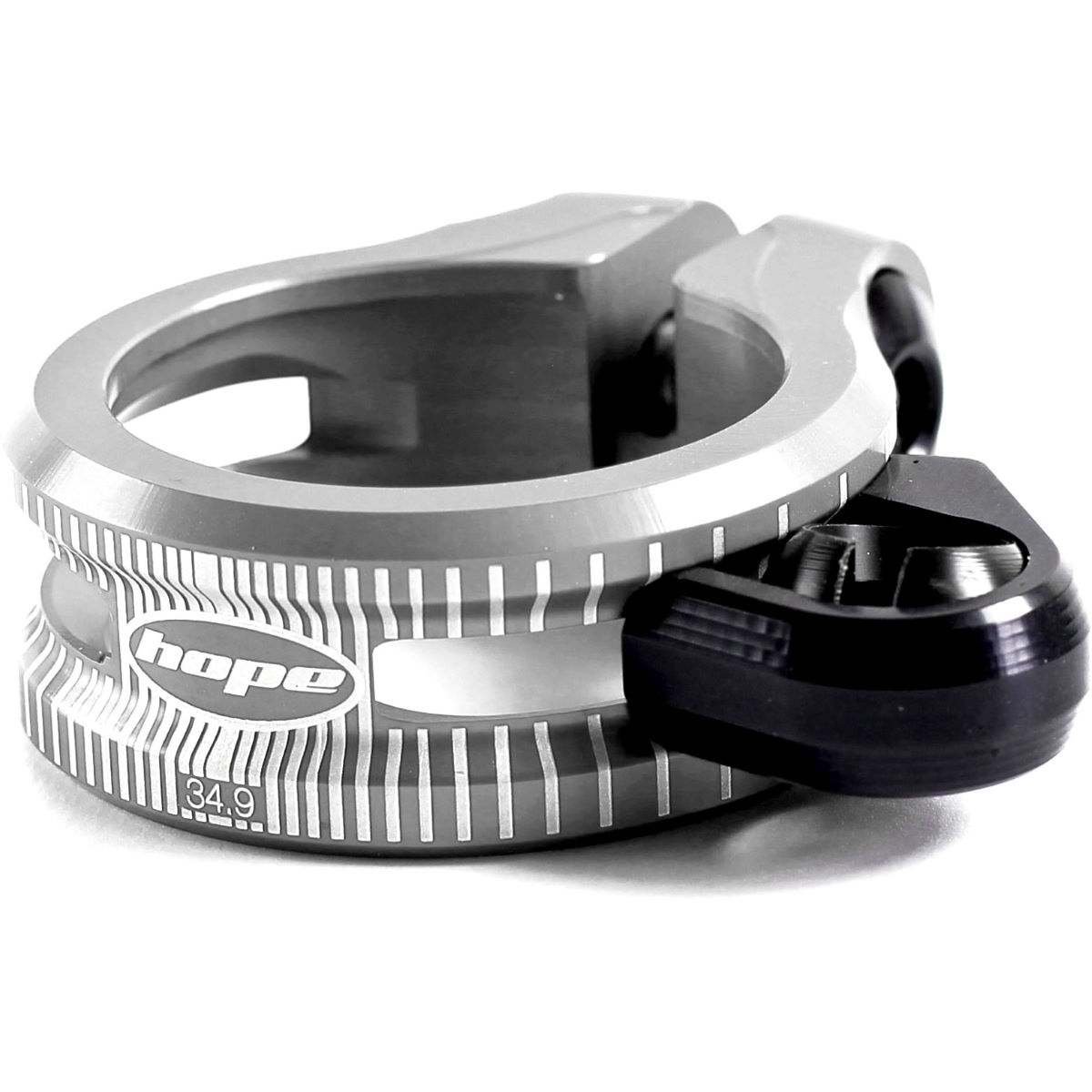 Hope Dropper Seat Clamp - 36.4mm Silver  Seat Post Clamps