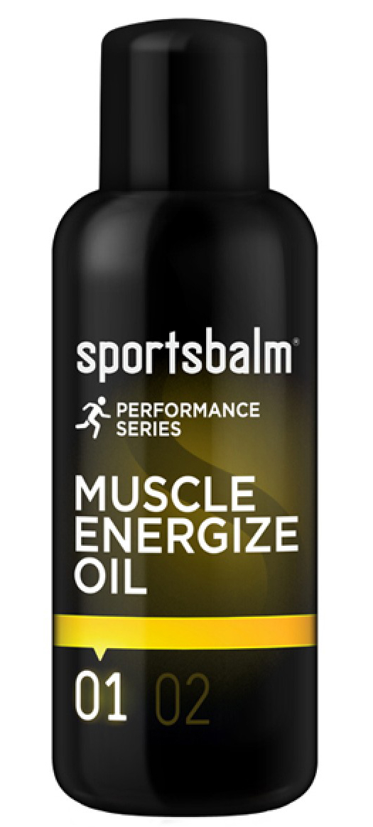 Sportsbalm Performance Series Muscle Energize Oil (200ml) | Personlig pleje