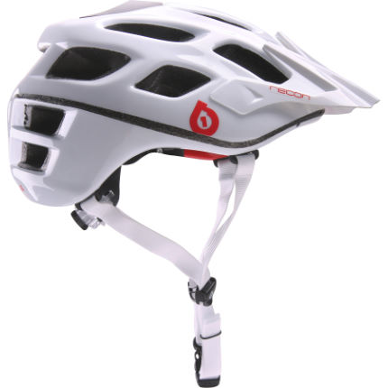 SixSixOne Recon Scout Helmet ( 2019 White/Red)