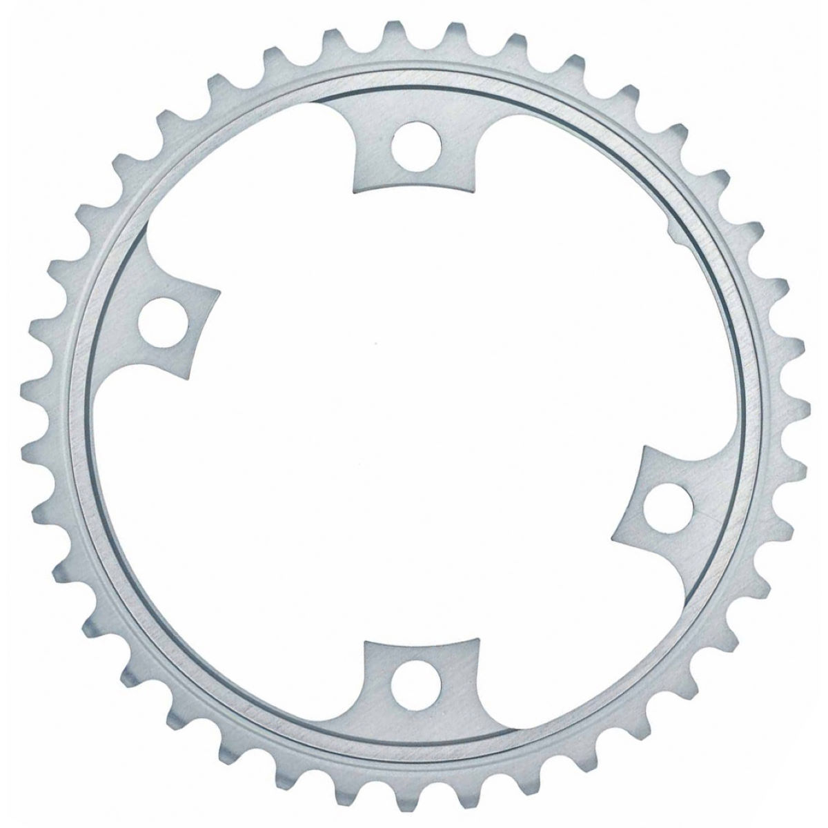 Shimano 105 Fc5800 11sp Double Chainrings - 34t 11 Speed Silver