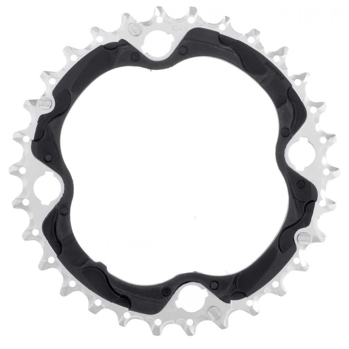 Shimano XT FCM782 10 Speed Triple Chainring   Chain Rings