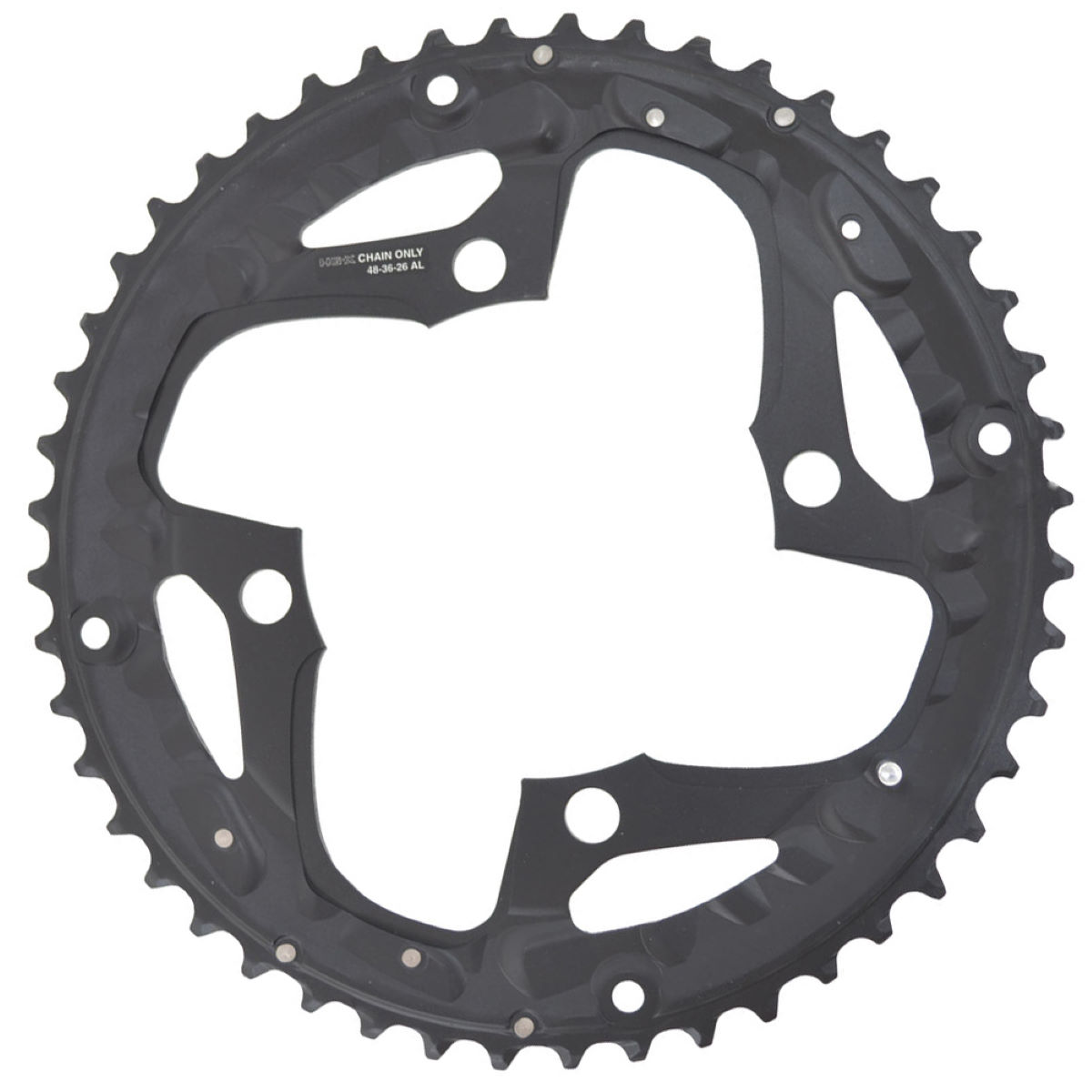 Shimano Deore FCM610 10 Speed Triple Chainrings - Platos