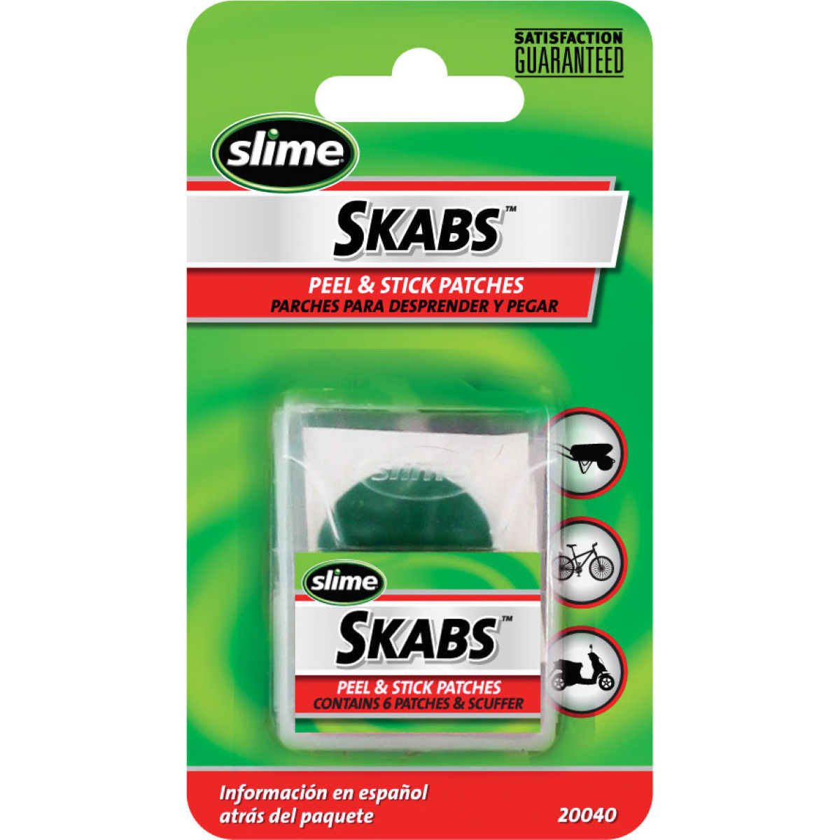 Slime Skabs Puncture Repair Patches   Tool Sets