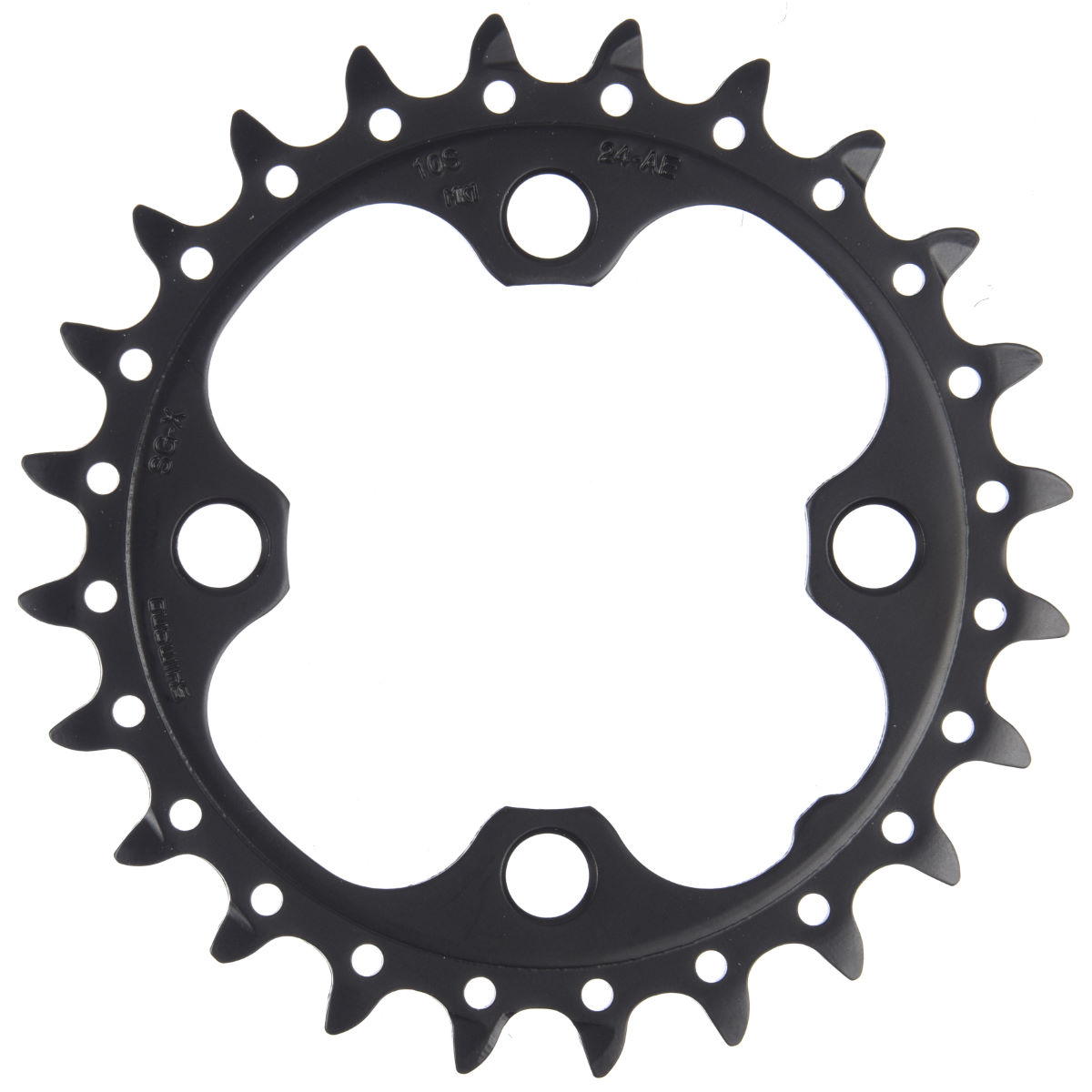Shimano Deore FCM590 10 Speed Triple Chainring   Chain Rings