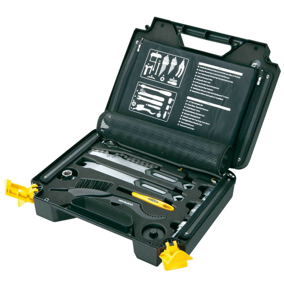 Topeak Prepbox 18 Piece Toolkit   Tool Sets