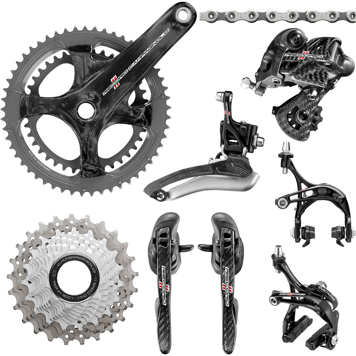Campagnolo Record 11 Speed Groupset - Grupos completos