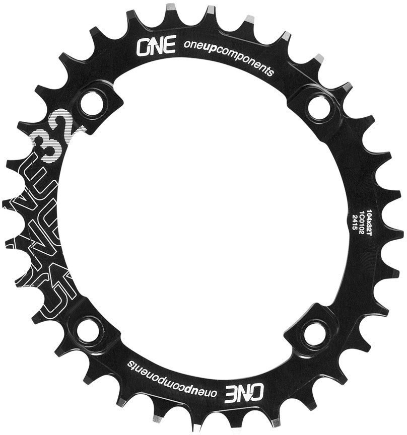 OneUp Components Narrow Wide Oval Single Chainring | chainrings_component