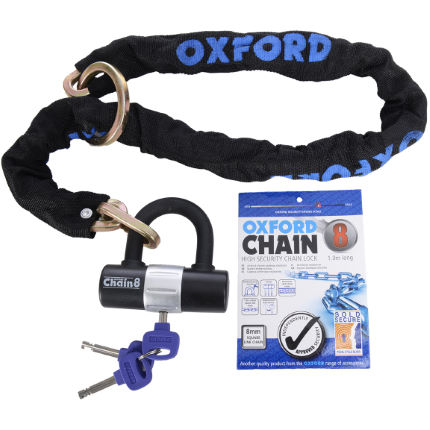 Oxford Chain8 Chain Lock and Mini Shackle