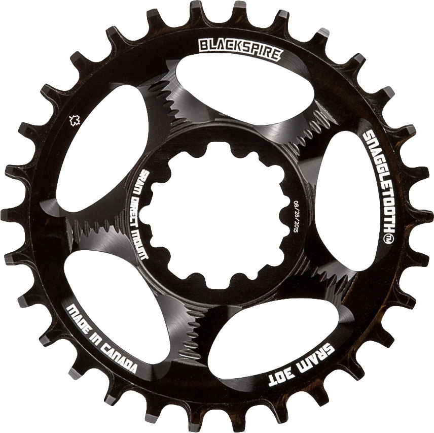 Blackspire Snaggletooth Narrow Wide Chainring SRAM | chainrings_component