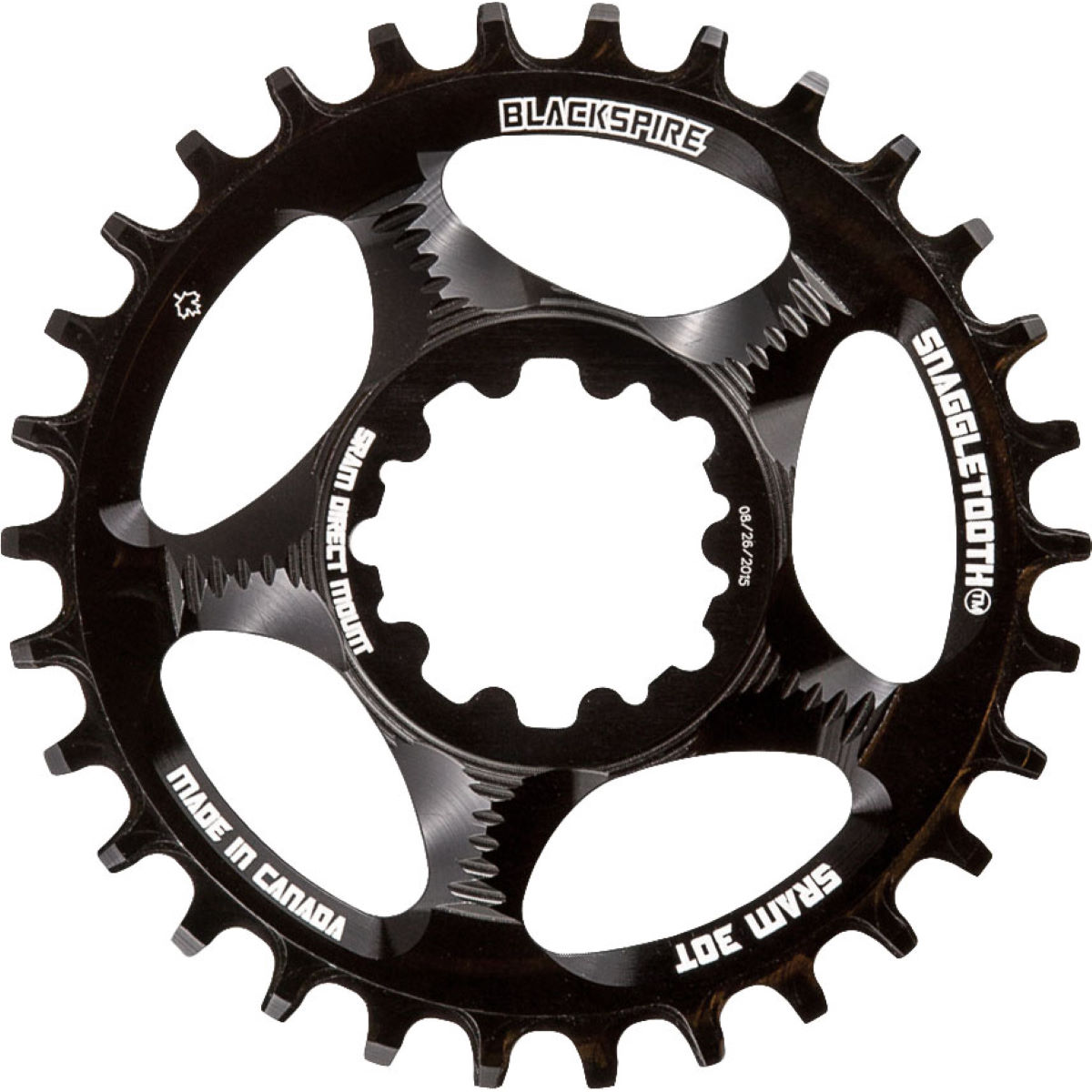 Blackspire Blackspire Snaggletooth Narrow Wide Chainring SRAM   Chain Rings