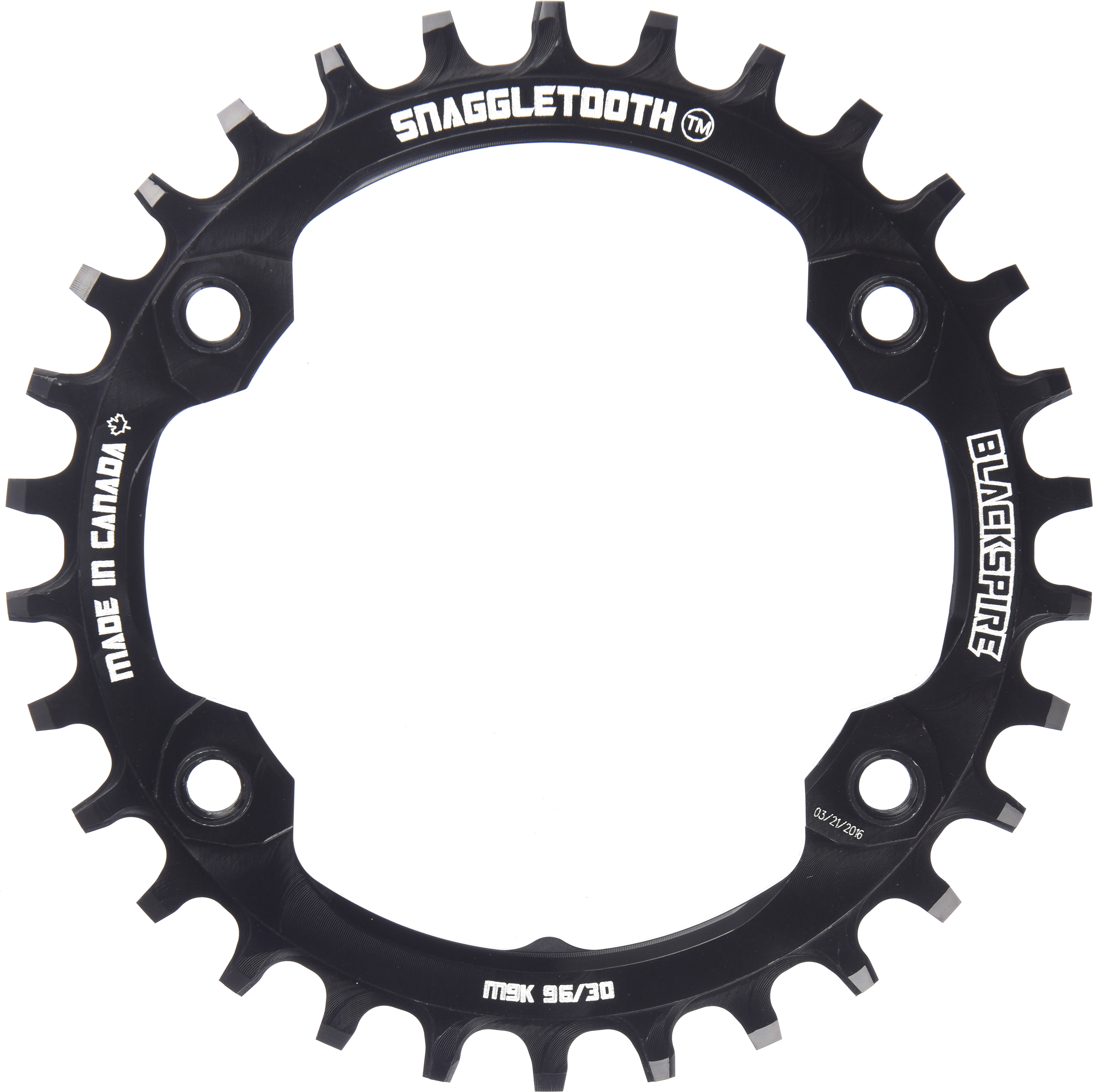 Blackspire Snaggletooth XTR Narrow Wide Chainring | chainrings_component